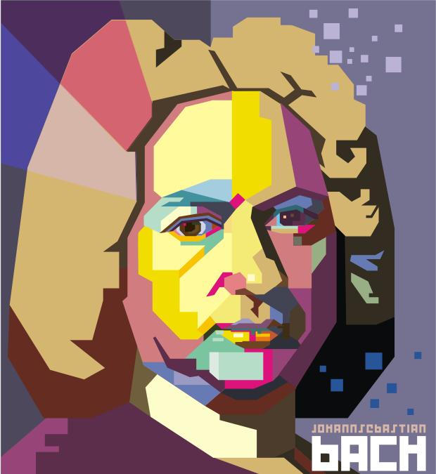Bach pop art