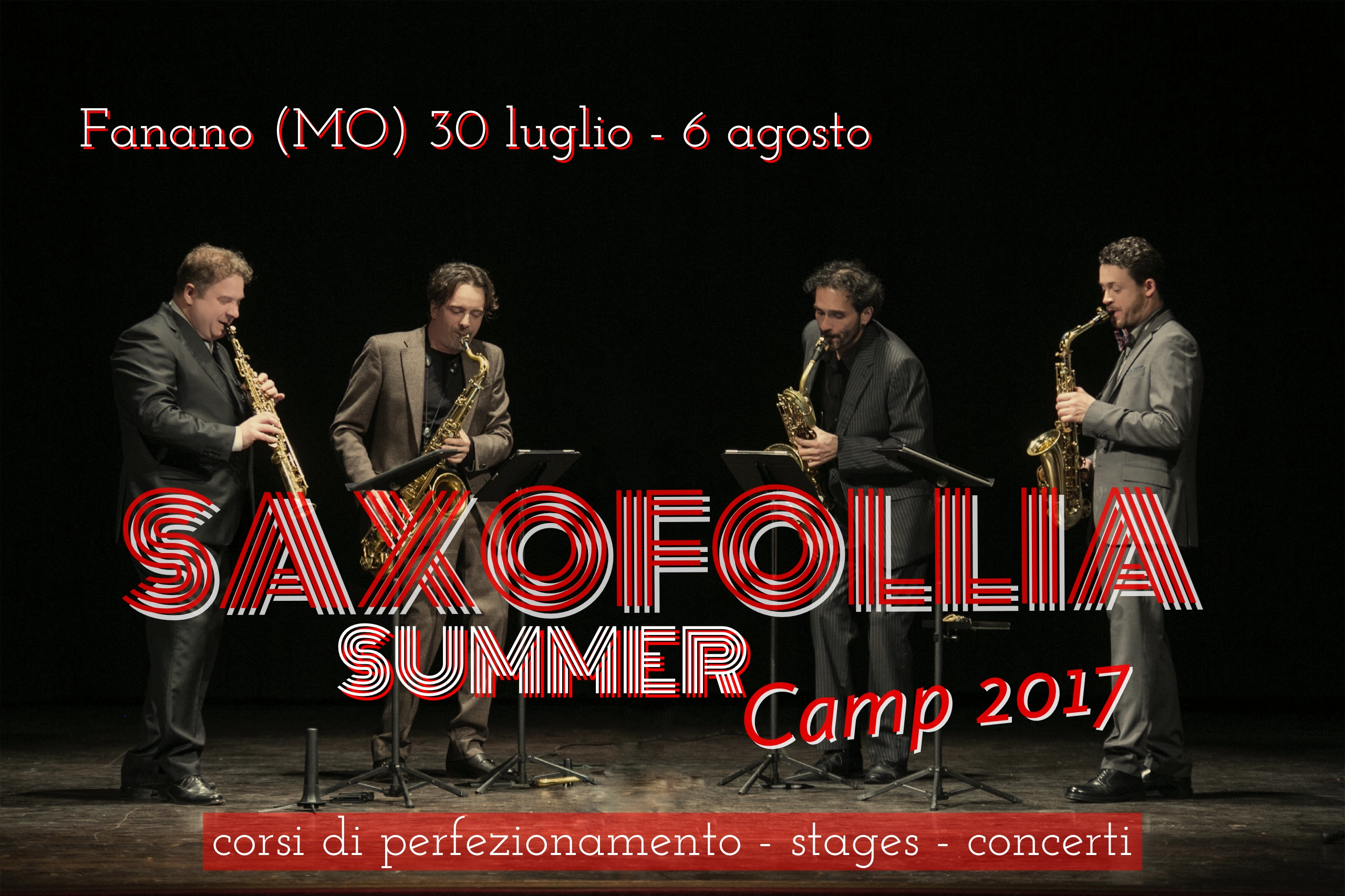 Saxofollia Summer Camp 2017