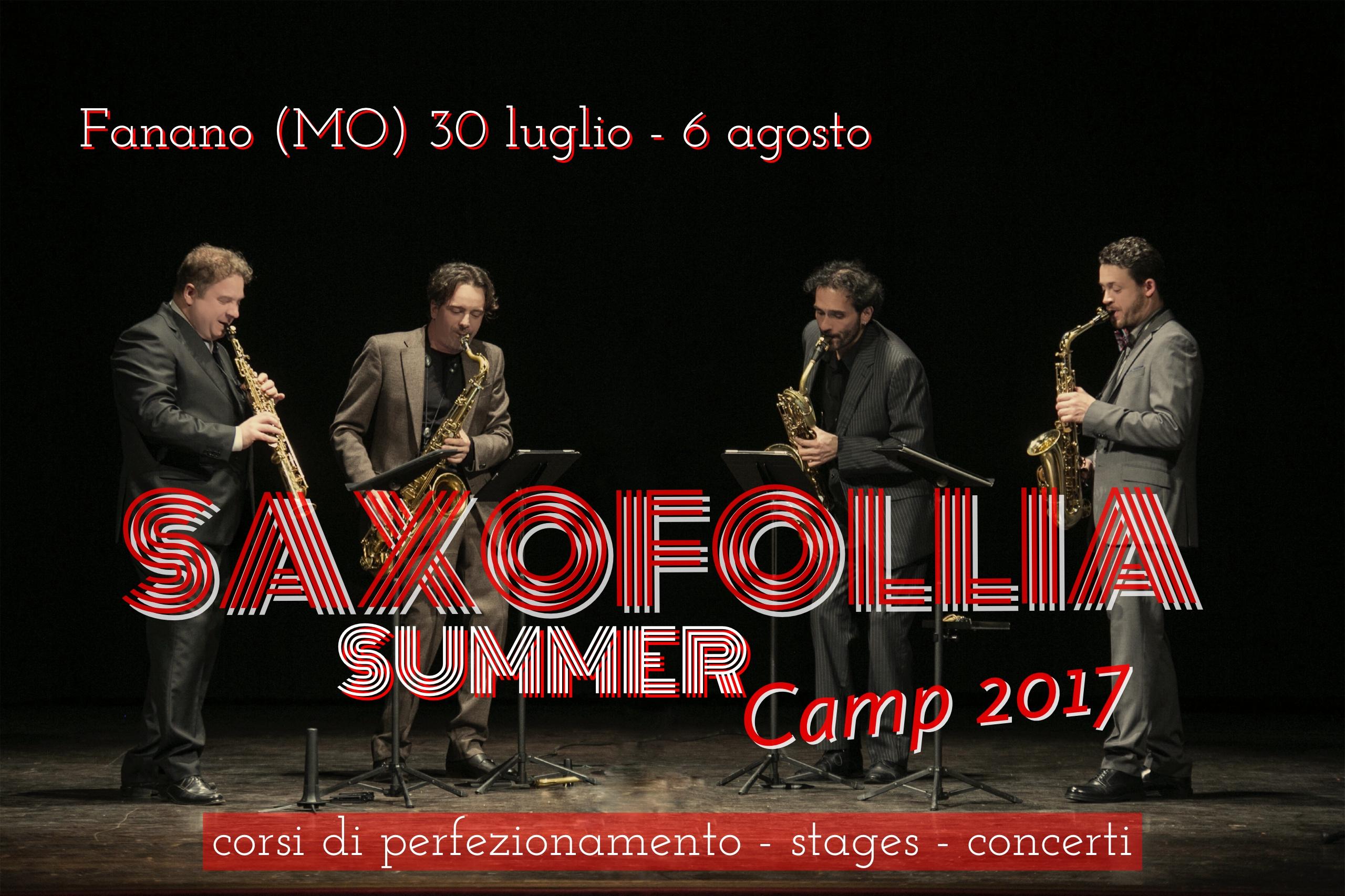 Saxofollia Summer Camp 2017