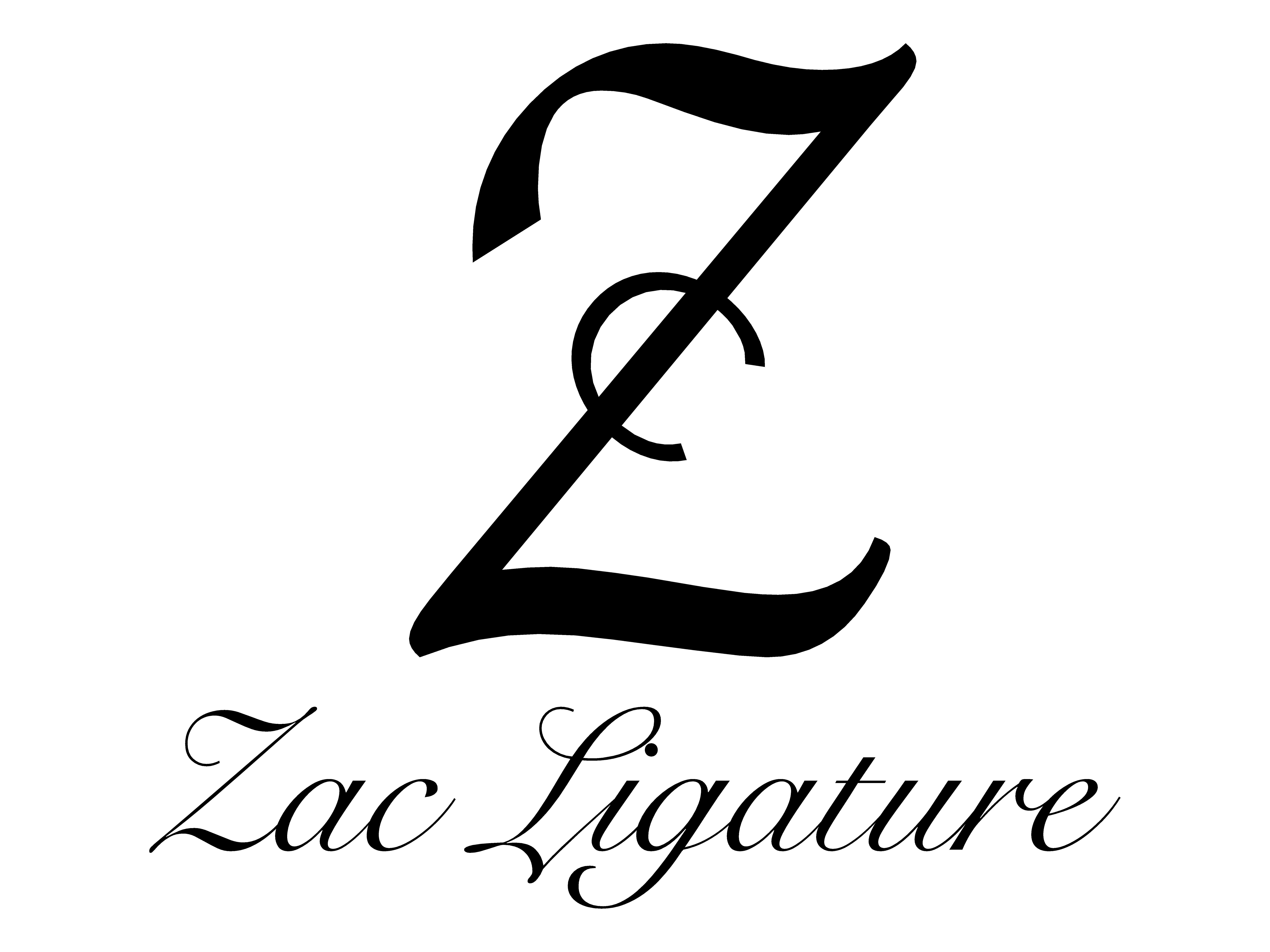 Logo Zac Ligature